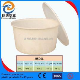 江苏常州500L塑料圆桶 酿酒 发酵桶 PE圆形塑料桶