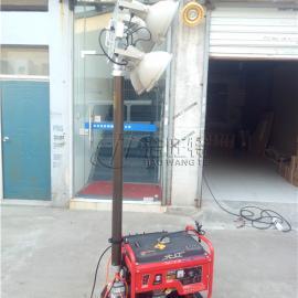 发电机组投光灯-施工现场发电照明灯-移动升降发电作业照明灯
