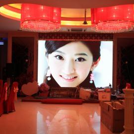 P2.5室内高清彩屏价格LED电子屏尺寸定制大屏厂家