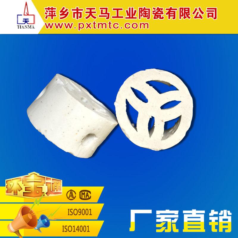 天马大量批发陶瓷填料 扁环 陶瓷扁环