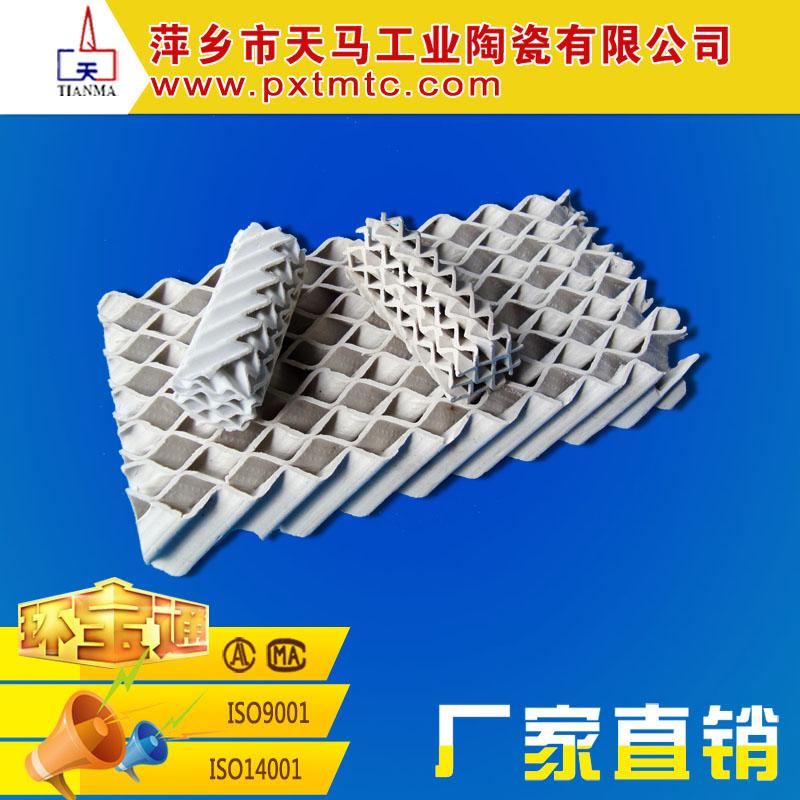 厂家直销优质陶瓷填料 陶瓷波纹填料