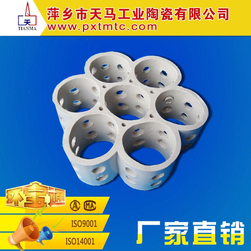 天马陶瓷长期供应优质陶瓷填料 陶瓷多孔洗涤环