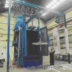 造纸机械结构件喷涂前表面抛丸喷砂除锈防腐清理机,增加附着力
