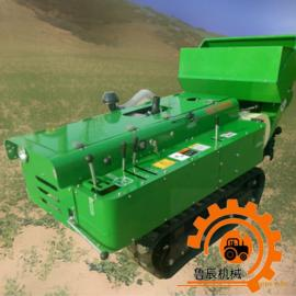 田园管理机开沟施肥机 多功能家用遥控式田园管理设备