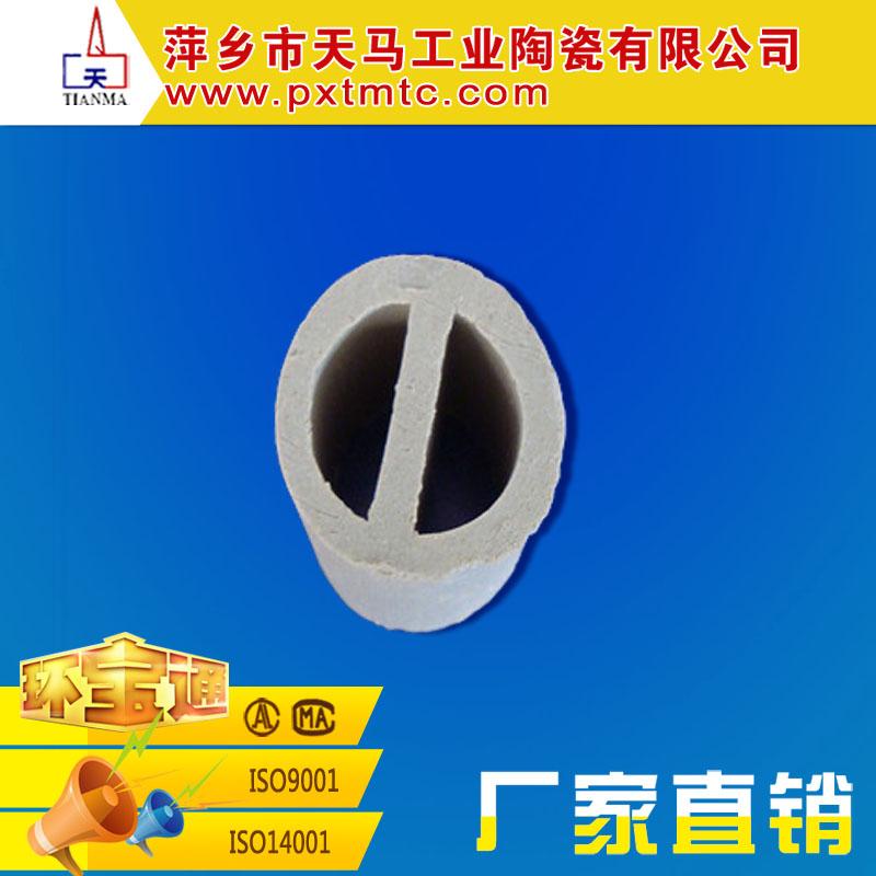 厂家直销化工填料 陶瓷一字环