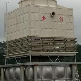 金创JCN系列玻璃钢低噪音逆流式冷却塔厂家直销