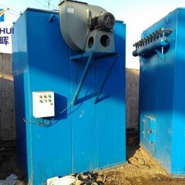 2吨生物质锅炉高温阻燃滤袋140单机脉冲布袋除尘器价格