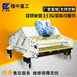 煤泥脱水筛工作原理 隆中重工TS高频脱水筛生产厂家