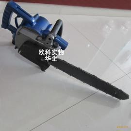无火花矿用切割链条专用机切割木材气动链条锯