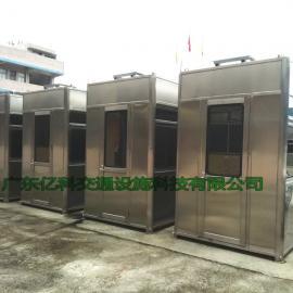 高速收费站岗亭 不锈钢高速收费岗亭价格 尺寸 造型