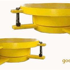 圆形滑动钢铰板式支座
