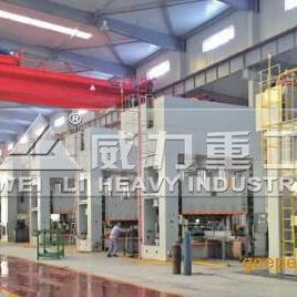 630吨框架式液压冲床_630吨空心砖成型压力机