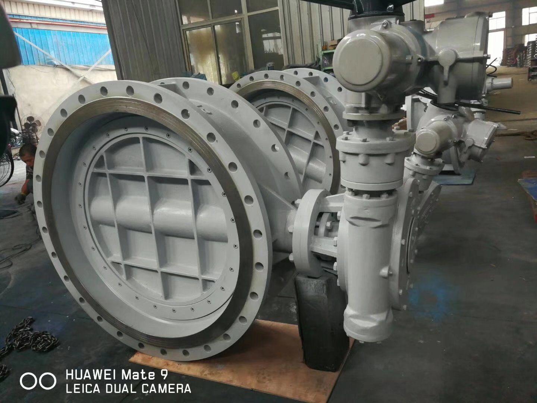 D943H-10C DN1000 电动法兰式蝶阀