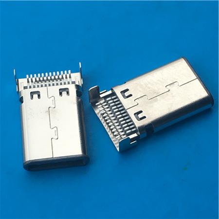 沉板3.1公�^SMT USB C TYPE沉板�N片 �N板式