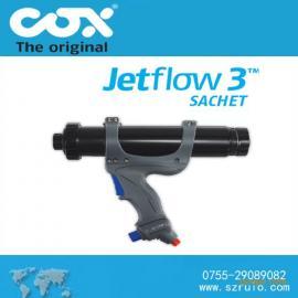 多功能气动胶枪,可喷胶打胶枪的英国COX气动胶枪