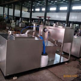 餐饮油水分离设备,餐饮隔油提升一体化设备,隔油设备厂家