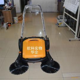 工业专用手推式双刷扫地机 车间无动力机械式扫地机