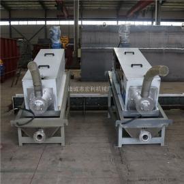叠螺式污泥脱水机设备、污泥处理设备 供应叠螺式污泥处理设备