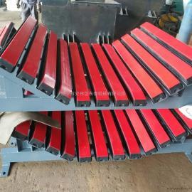 东泰机械输送机厂家定做各种规格皮带机缓冲床,多年电厂供货