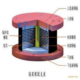 铅芯橡胶建筑隔震支座
