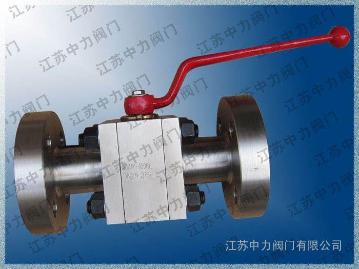 CNG天然气专用法兰式球阀