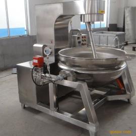 电加热行星炒锅 全自动导热油搅拌夹层锅 火锅底料酱类不糊锅
