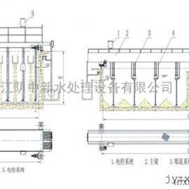 HCX型绗车式吸泥机