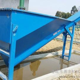无轴螺旋砂水分离器、诸城善丰分离效率高的砂水分离器