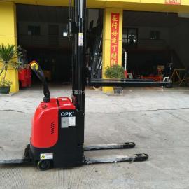 全电动叉车堆高车电瓶搬运车自动液压升高车装卸铲车堆高机