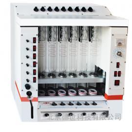 上海纤检 粗纤维测定仪 SLQ-6A粗纤维测定仪 性能参数