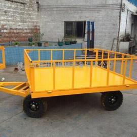 广州白云机场专用行李平板拖车佛山厂家定制拖车