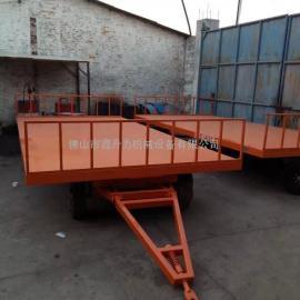 供应厂内货物转运或牵引的20吨重型平板拖车,可非标定制