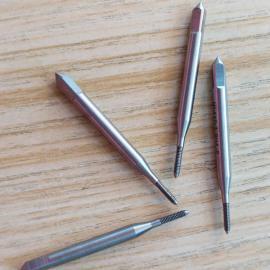 铝锌合金中框通孔专用M1.2挤压丝攻