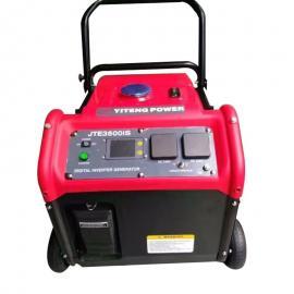 便携式带轮汽油数码发电机的油耗
