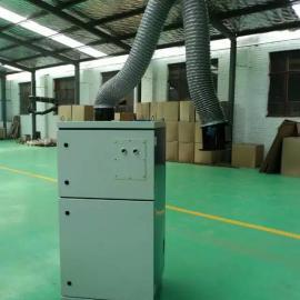 工业锡焊烟尘单臂1.1kw电机移动焊烟净化器服务承诺书