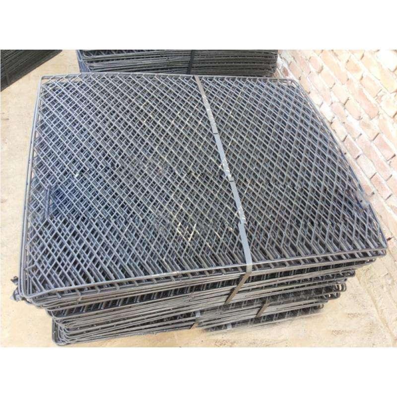 焦作80*120脚手架钢笆片生产厂家定做一吨价格&包边钢笆片报价