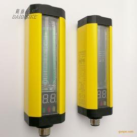 检测测量光栅安全光幕传感器计数器数显红外线保护器