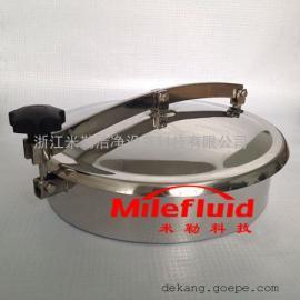 快开人孔|不锈钢快开人孔|卫生级不锈钢快开人孔生产厂家