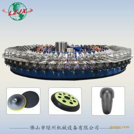 厂家直销汽车抛光盘抛光轮发泡圆盘生产线 PU转盘生产设备