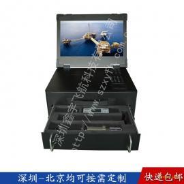 15寸工业便携机机箱定制军工电脑加固笔记本铝视频采集