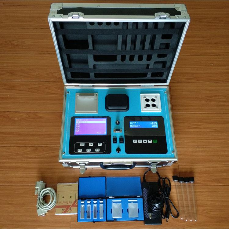 SN-200Y-12 便携式野外应急水质多参数快速测定仪