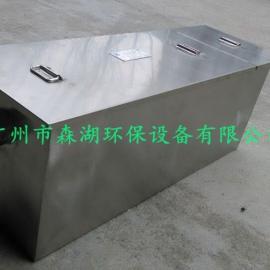 供应单位食堂无动力油水分离器 5吨不锈钢经久耐用隔油池