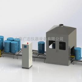化工防爆灌装机,200升大桶灌装机,全自动大桶灌装机生产线
