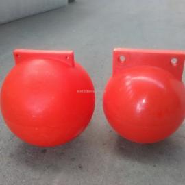 厂家直销PE材质隔离浮球/直径400MM滚塑浮体定做