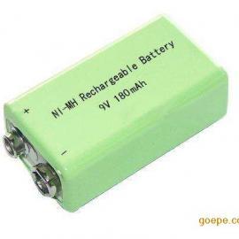 厂家供应9v180mAh 镍氢电池 7F22电池