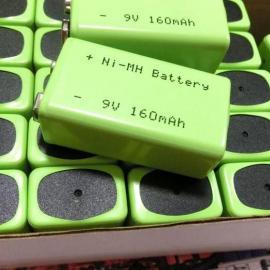 厂家供应9v160H镍氢充电电池组