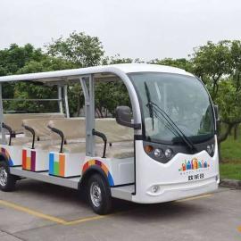 重庆供应14座电动观光车,封闭观光车,景区电动观光车价格