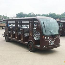 14座古镇仿古电动观光车,贵州天龙屯宝电动观光车,观光车