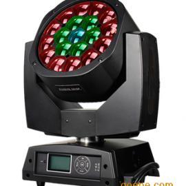 LED摇头染色灯19颗蜂眼灯