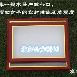 植物标本盒 生活史标本盒 漆布实木标本盒